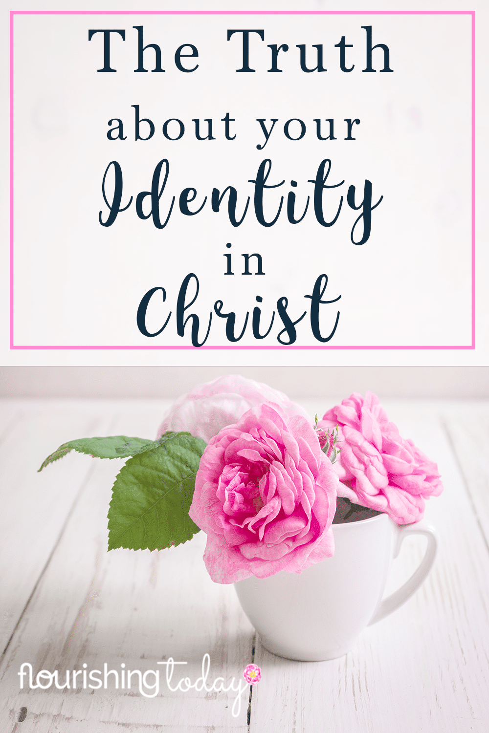 What lies have you believed about who you are? God's Word provides truth about our identity. Here you'll find out about your true identity in Christ.