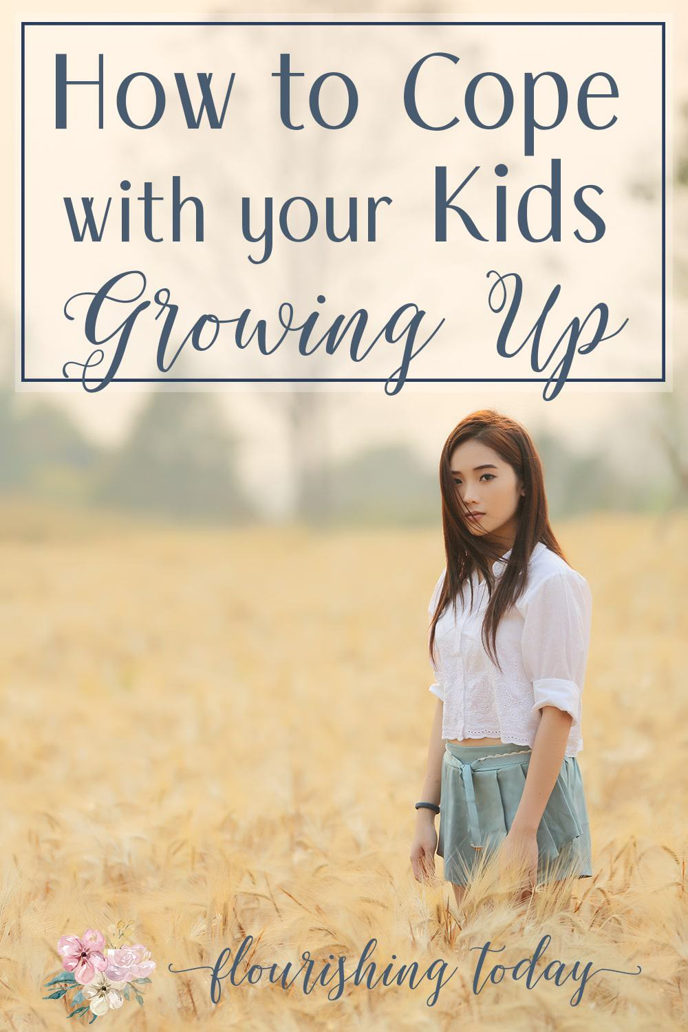 Are you having a hard time with your children growing up? Here's a few tips on how you can not just cope, but be confident and equipped for the next season.