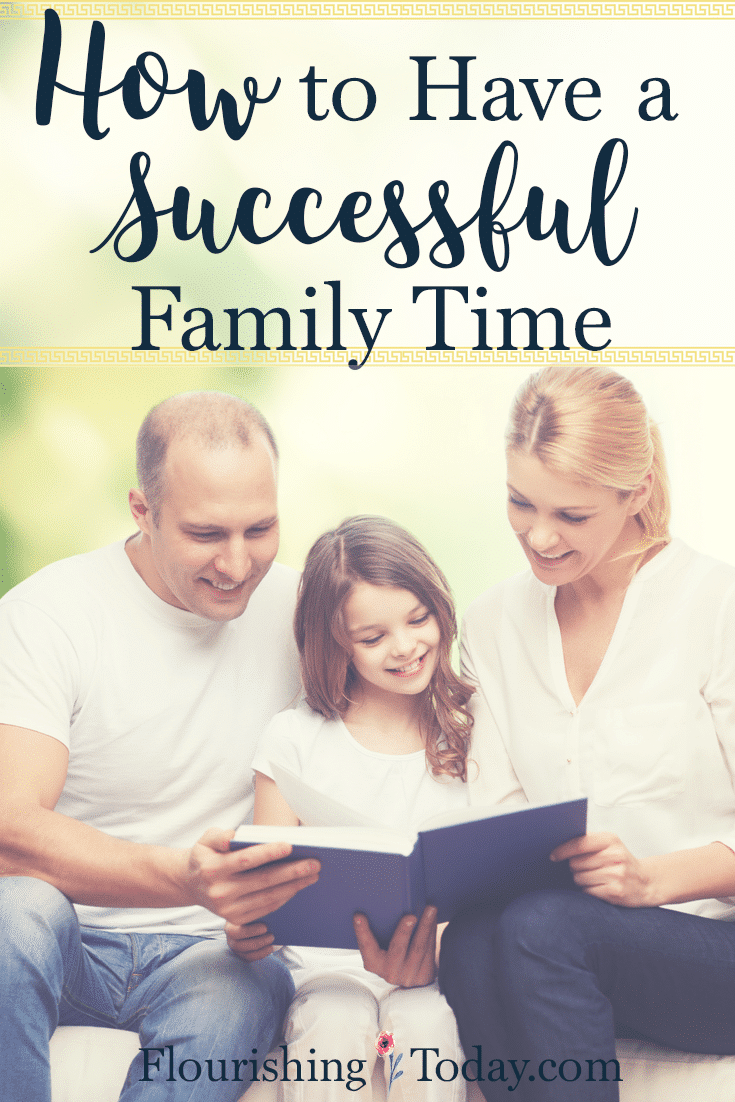 Does family time leave you worn out and exhausted? Perhaps a little structure is all you need! Here are tips on how to have a successful family time.