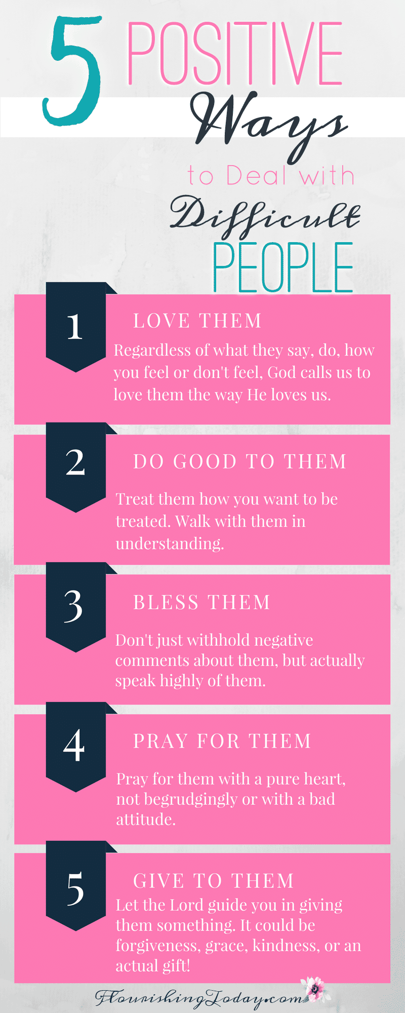 Dealing with difficult people is a part of life. How can we handle them with care? Here are some keys on how to deal with difficult people.
