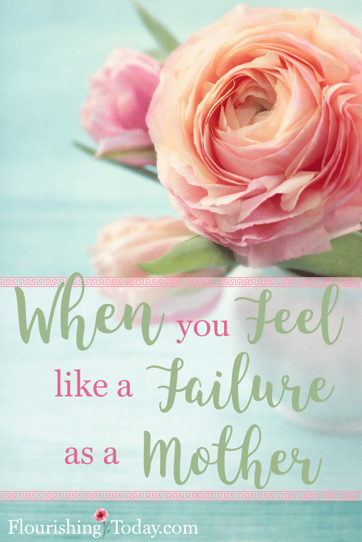 Do you ever feel like a failure as a mother? When we can't do anything else, we can always turn to God! He has our kids in the palm of his hand.