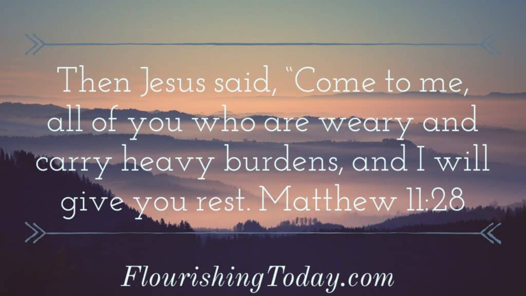Scriptures & Prayers for Finding Rest