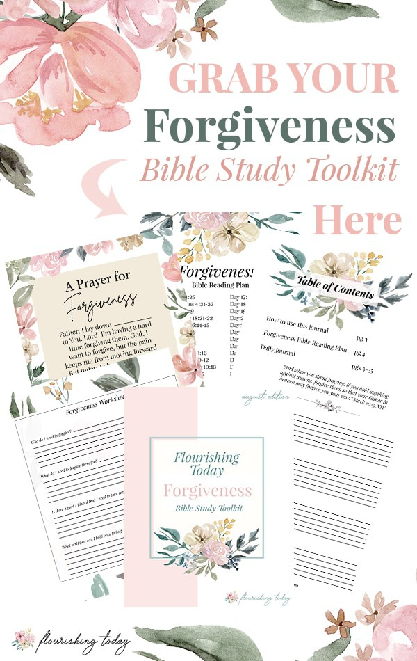 Are you struggling in a friendship, your marriage or another relationship? Forgiveness can be hard when the hurt is deep. In this resource you'll find scriptures on forgiveness to study, prayer, a bible verse reading plan, forgiveness worksheet and more! Don't let unforgiveness hold you back from God's best in your life! #forgiveness #forgive #forgiven #bibleverse #bible #scripture