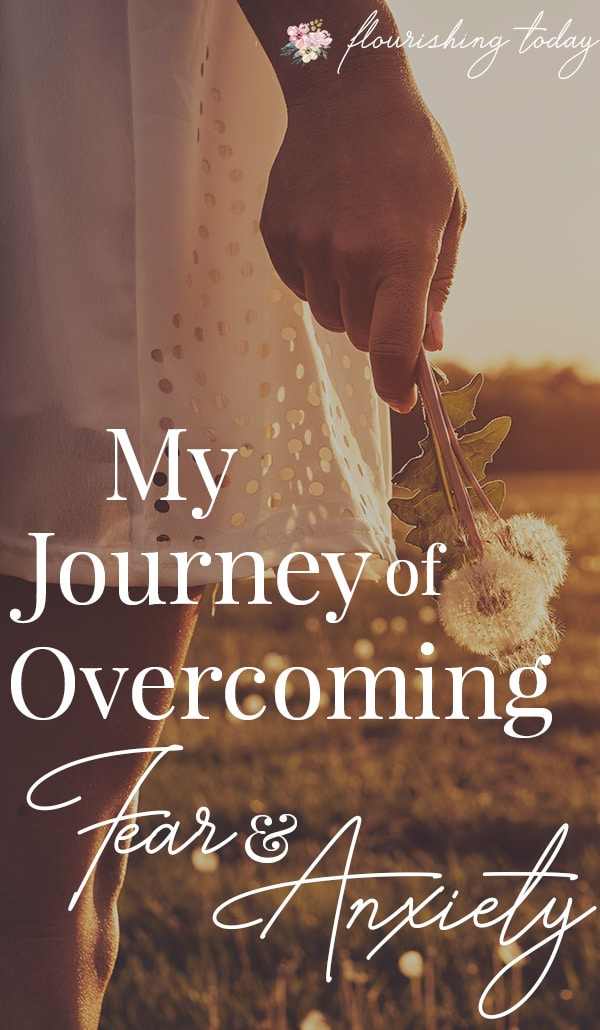 Are you struggling with fear? Do you feel helpless in the battle? Here I'm sharing my journey to overcoming fear and anxiety and the truths from the Bible that gave me the faith to keep fighting. #inspiration #bible #overcomingfear #God #overcominganxiety #fearandanxiety #overcome