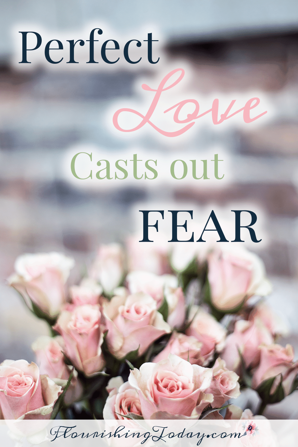 Perfect love casts out fear | Overcoming fear | God's love | Anxiety | Defeating Fear | Studying the Word | Bible Verses for Fear |