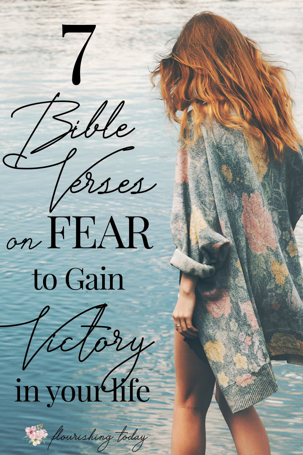 Is fear stealing your joy? Are you ready to gain victory over it? Here are 7 bible verses on fear to claim to win the battle against fear in your life! #overcomefear #nofear #bibleversesfear #battlingfear #fearless #promisesofGod