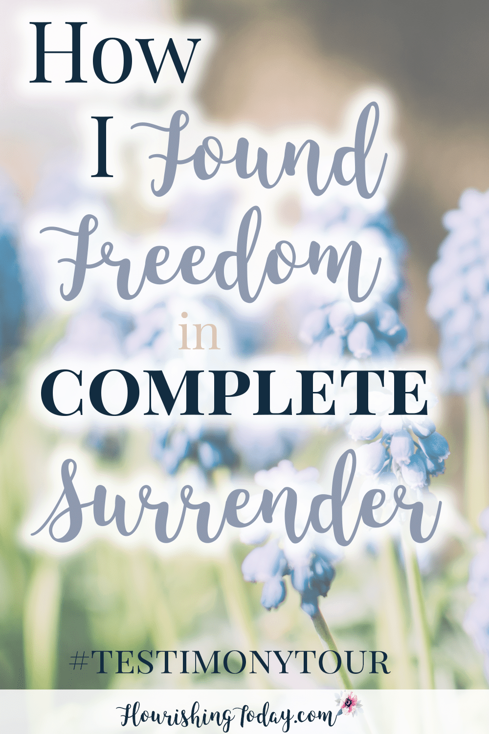 Has life taken the wind out of your sails? I can relate. But I also know there is freedom in surrender to Christ. Have you completely surrendered to Him?