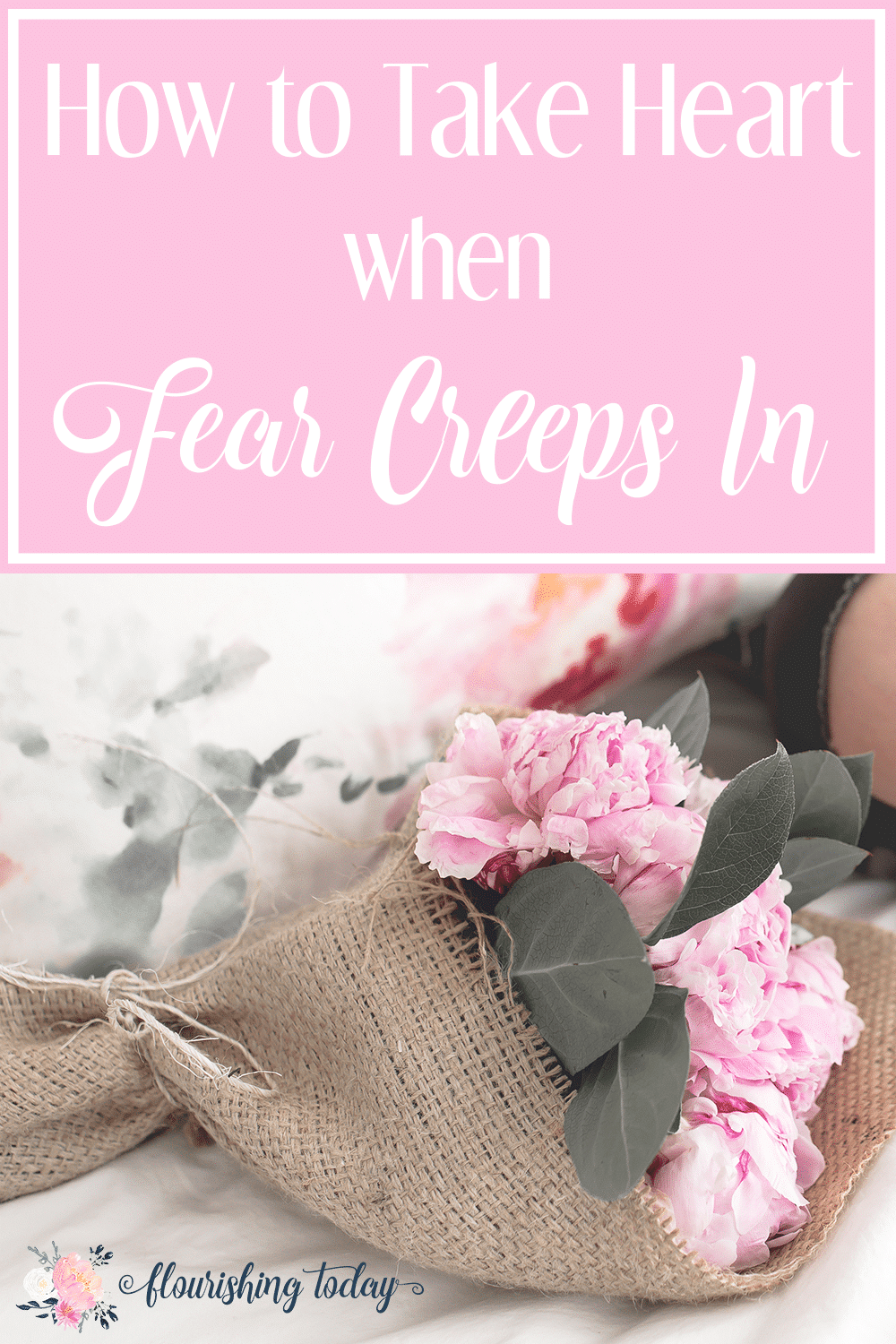 What fears are you facing? Not sure how to conquer them? Here's 6 Ways to Take Heart When Fear Creeps In. Grab Your Free Printable!