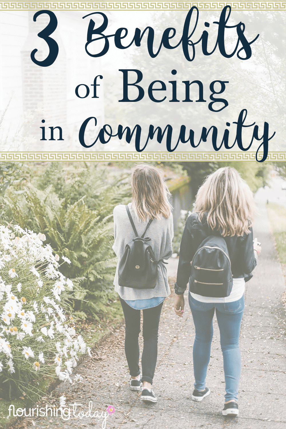 Are you part of a community? Community can be a lifeline in times of struggle. Join us for a new community & 3 Important Benefits of Being in Community!