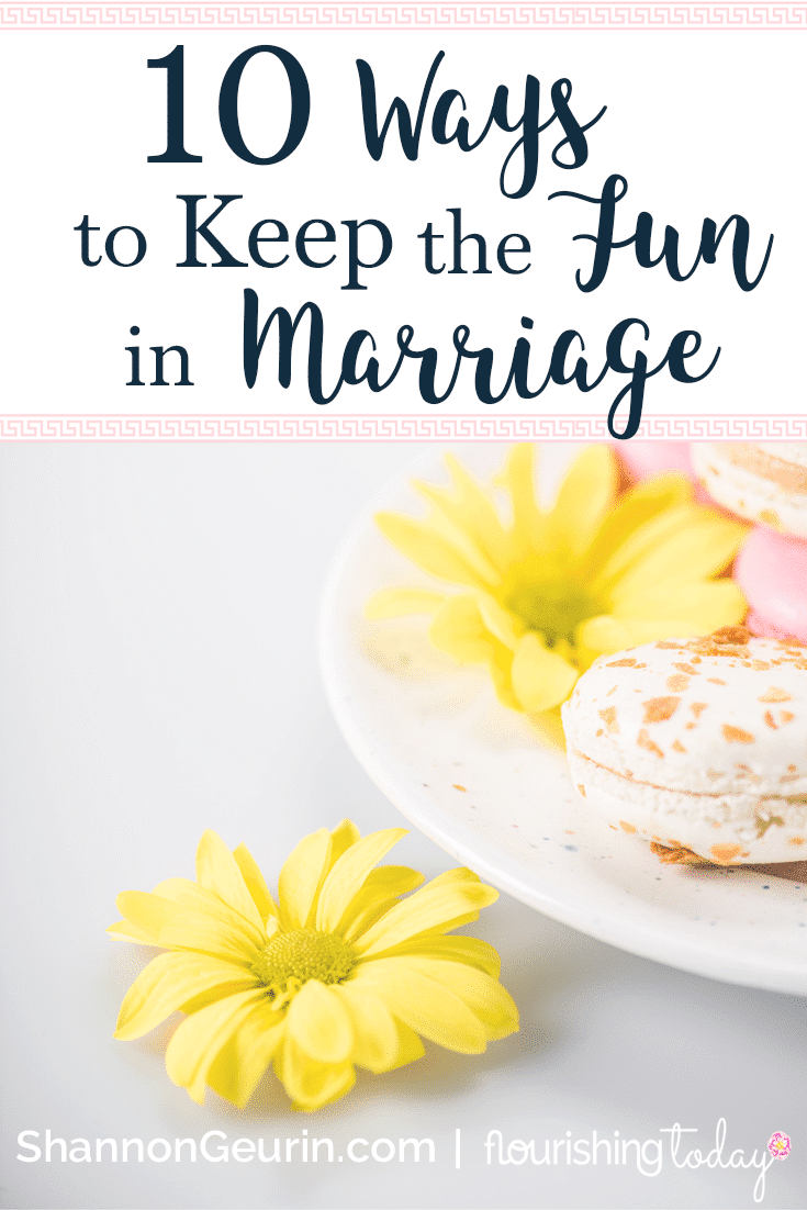 How do you have fun in marriage? Keeping the spice in your married life is important to making it last! Here are 10 ways you can keep the fun in marriage.