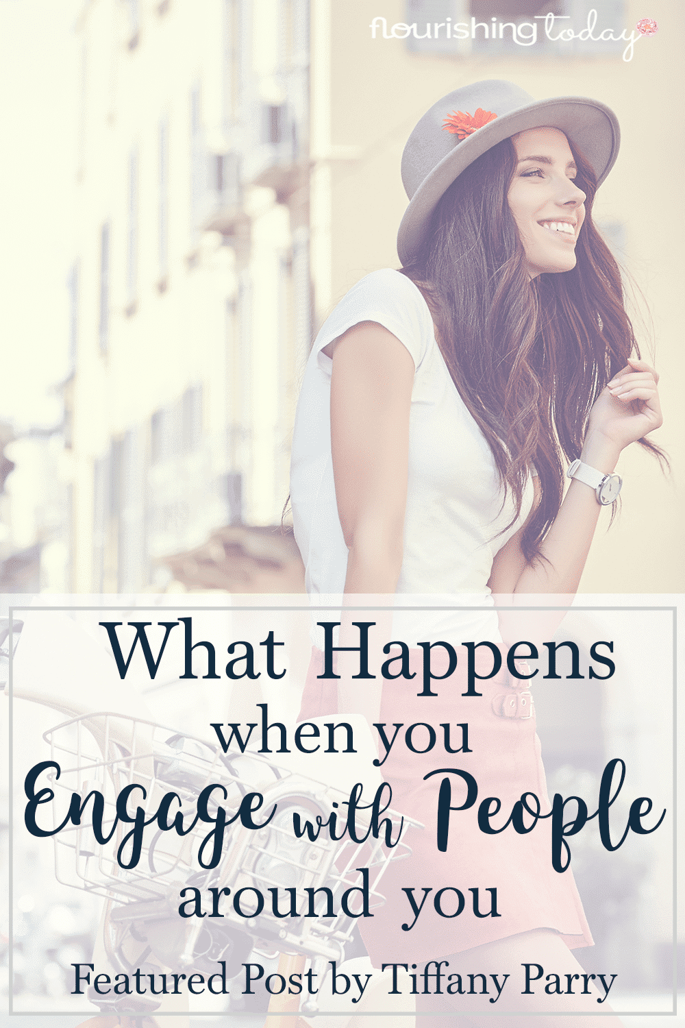 Do you engage with people around you? A simply hello can have a huge impact. Here's what happens when you look at people around you.