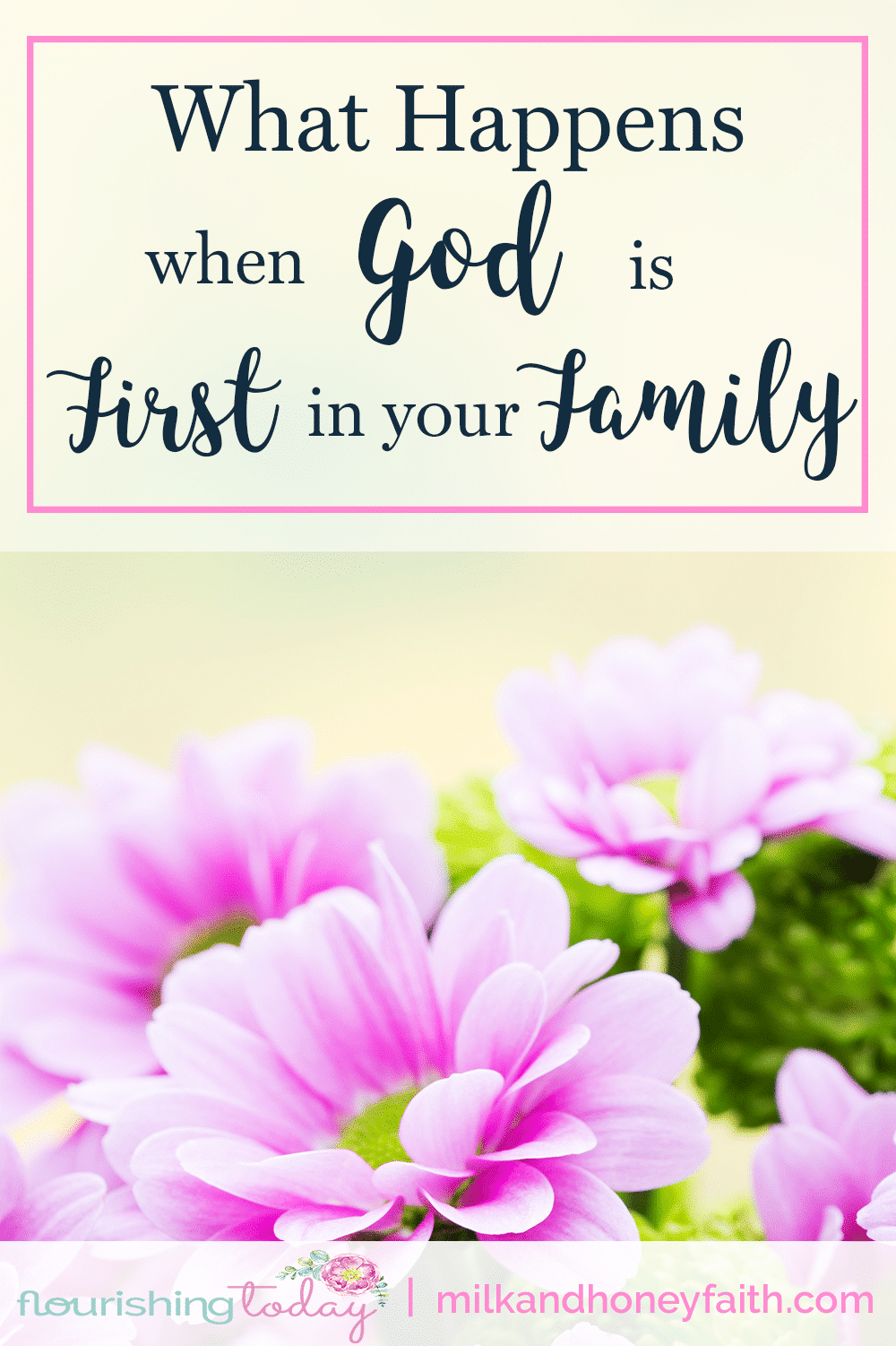 Do you place God first in family? Placing Him first above our families actually protects them from major issues. Here's what happens when you put God first.