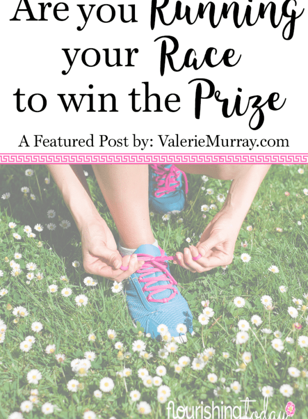 Are You Running Your Race to Win the Prize? {S & L Linkup #3}