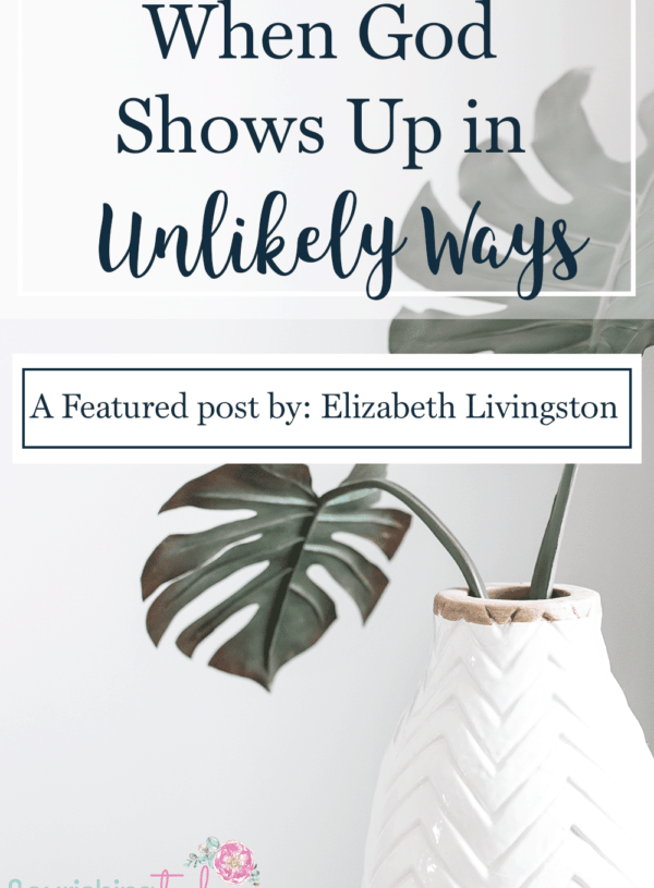 Have you ever noticed that God shows up in the most unlikely ways? Today we share how God shows up through people we least expect and in unlikely ways.