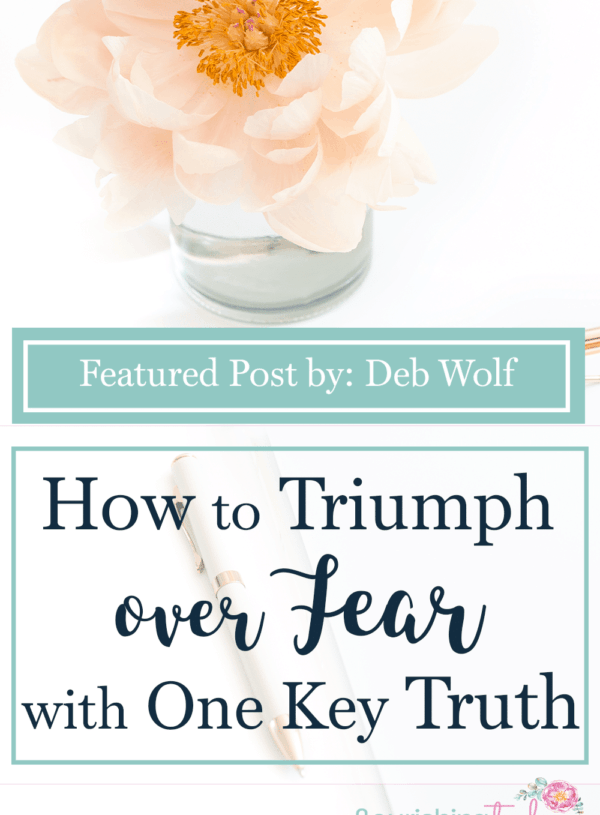 Do you wrestle with how to get over the fear that plagues you? Are you ready to triumph over fear? Here is one truth that help you to conquer your fears!