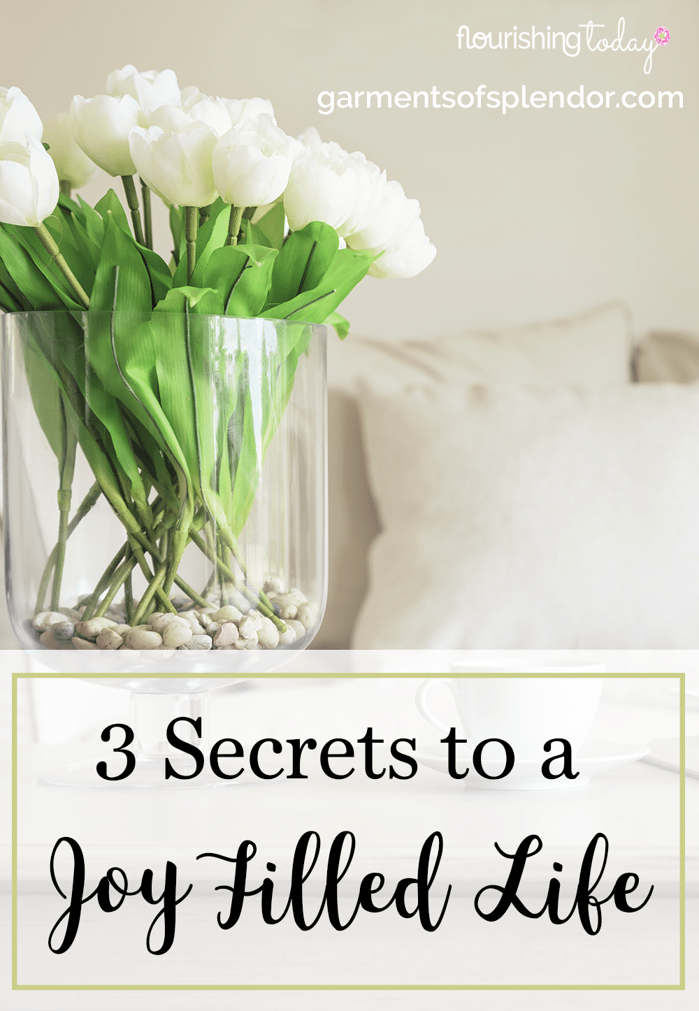 Are you searching for a life filled with joy? You can be joyful regardless of your circumstances. Here are 3 secrets to a joy filled life.
