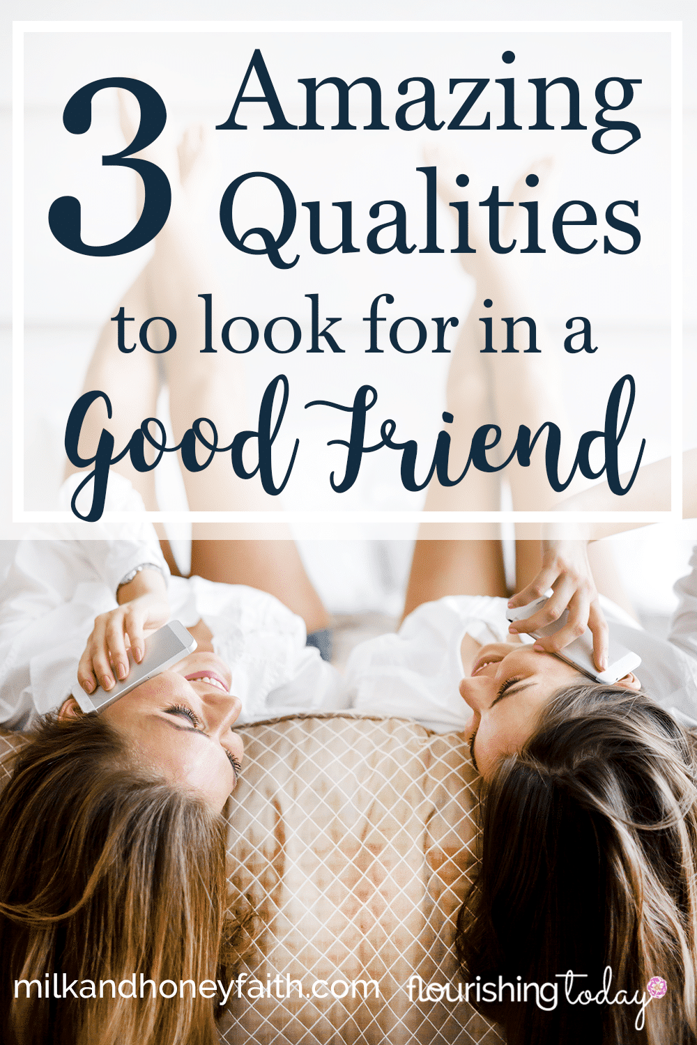 What do you look for in a friend? Good friends are not easily found. But there are qualities in a good friend we can look for. Join us as cover a few!
