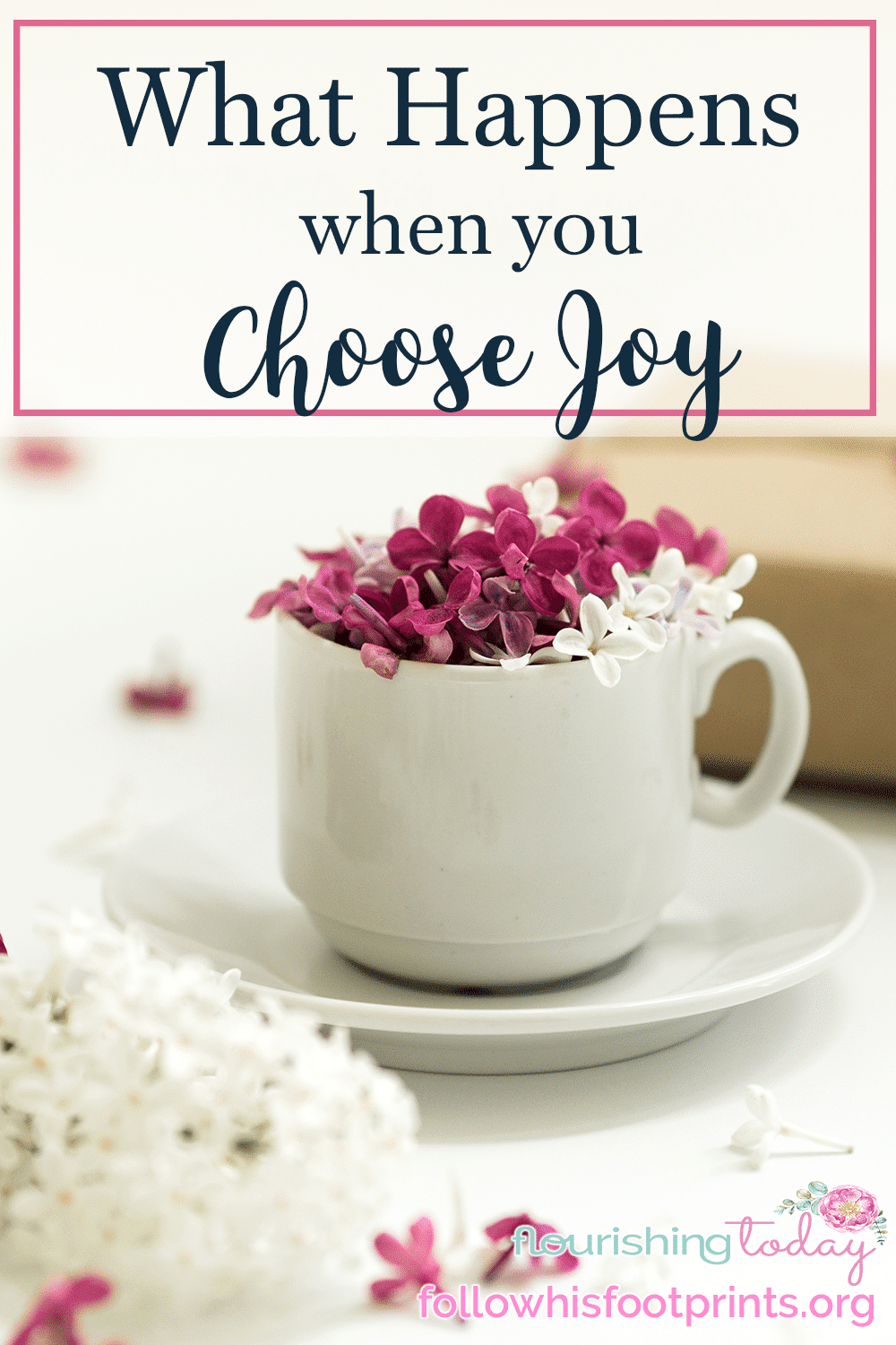 Are your circumstances stealing your joy? Despite what we see and feel we can choose joy. And when we do, we will see just how powerful our choice can be!