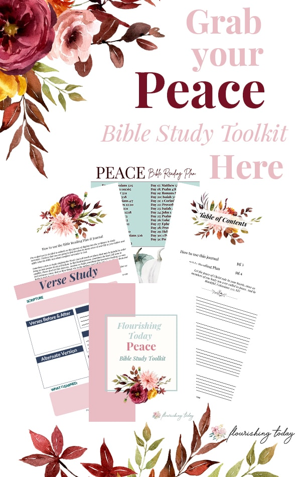 Are you tired of being stressed out and overwhelmed by life? Are you ready to experience the peace that surpasses all understanding? In this 31 day Bible Study Plan, you'll learn: what it means to have biblical peace, where to find it and how to maintain it regardless of your circumstances. #peace #peaceofmind #bible #biblestudy #biblestudies #bibleverses #bibleverse