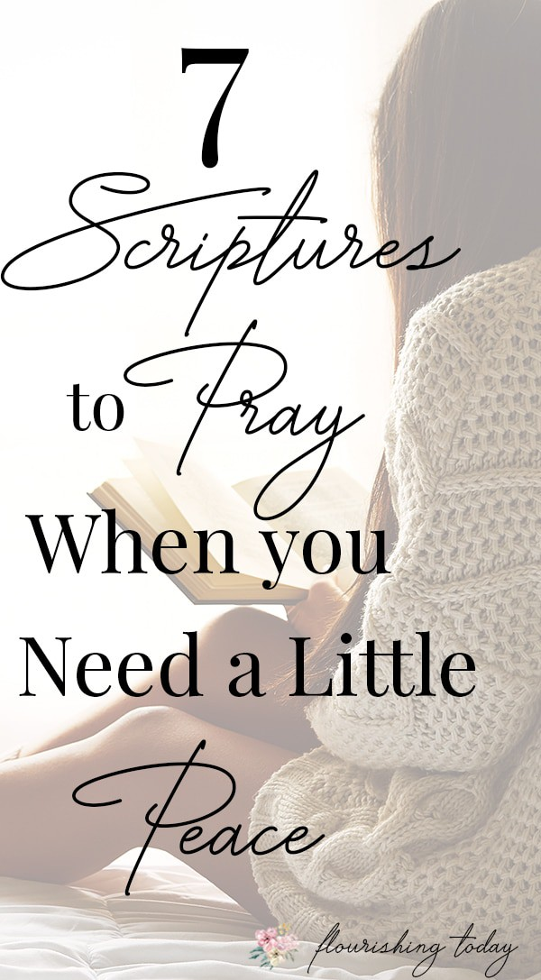 Are you searching for peace but still feel anxious? Finding peace comes through a relationship with God and reading the Bible. Here are a few scriptures for peace when you're feeling anxious. #scriptures #peace #scripturesforpeace #bibleverses #peace #anxiety