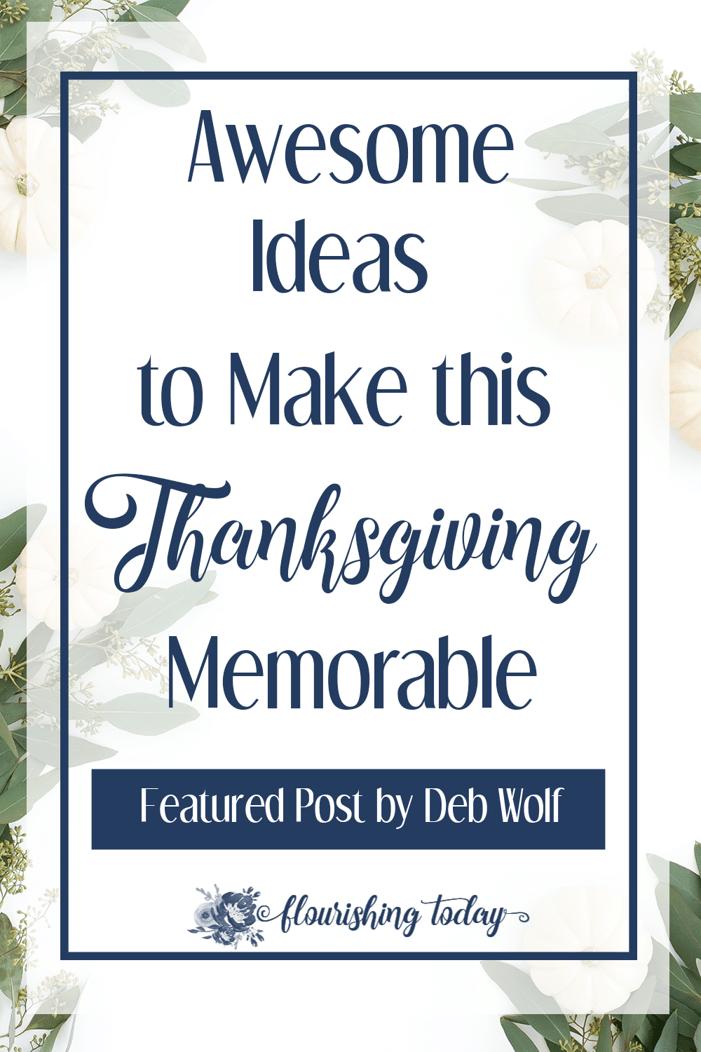 Are you searching for fun ideas for Thanksgiving this year? Here are 10 ideas to give your family a memorable Thanksgiving this year!