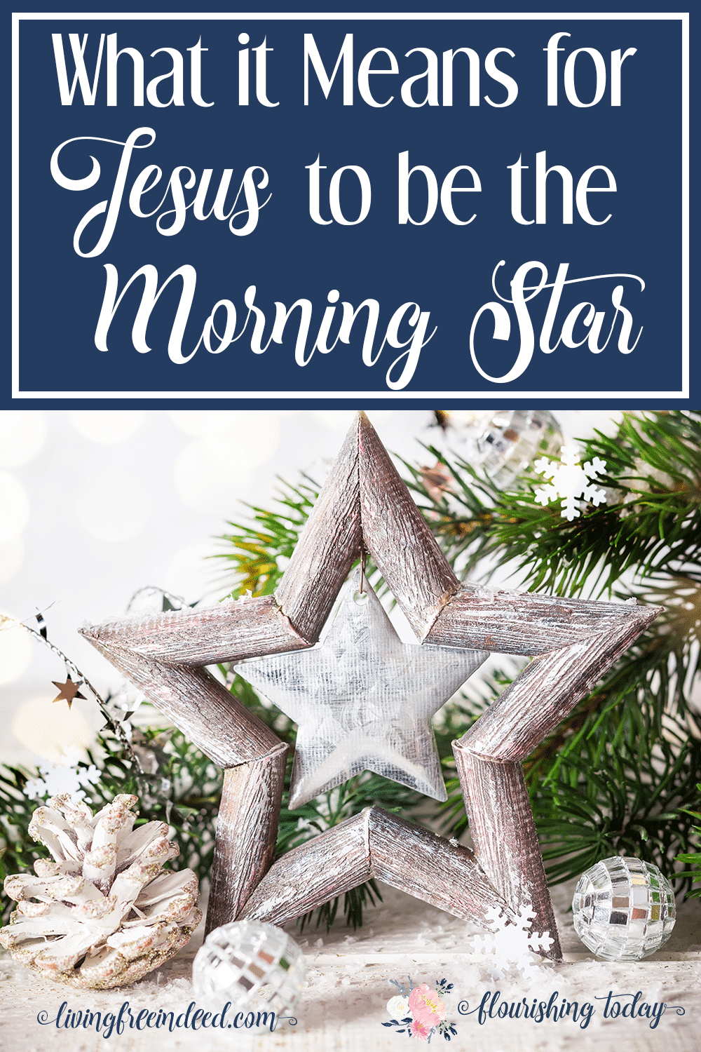 What does it mean for Jesus to be the Morning Star? Join us as we search the scriptures for the Names of Jesus this Christmas.