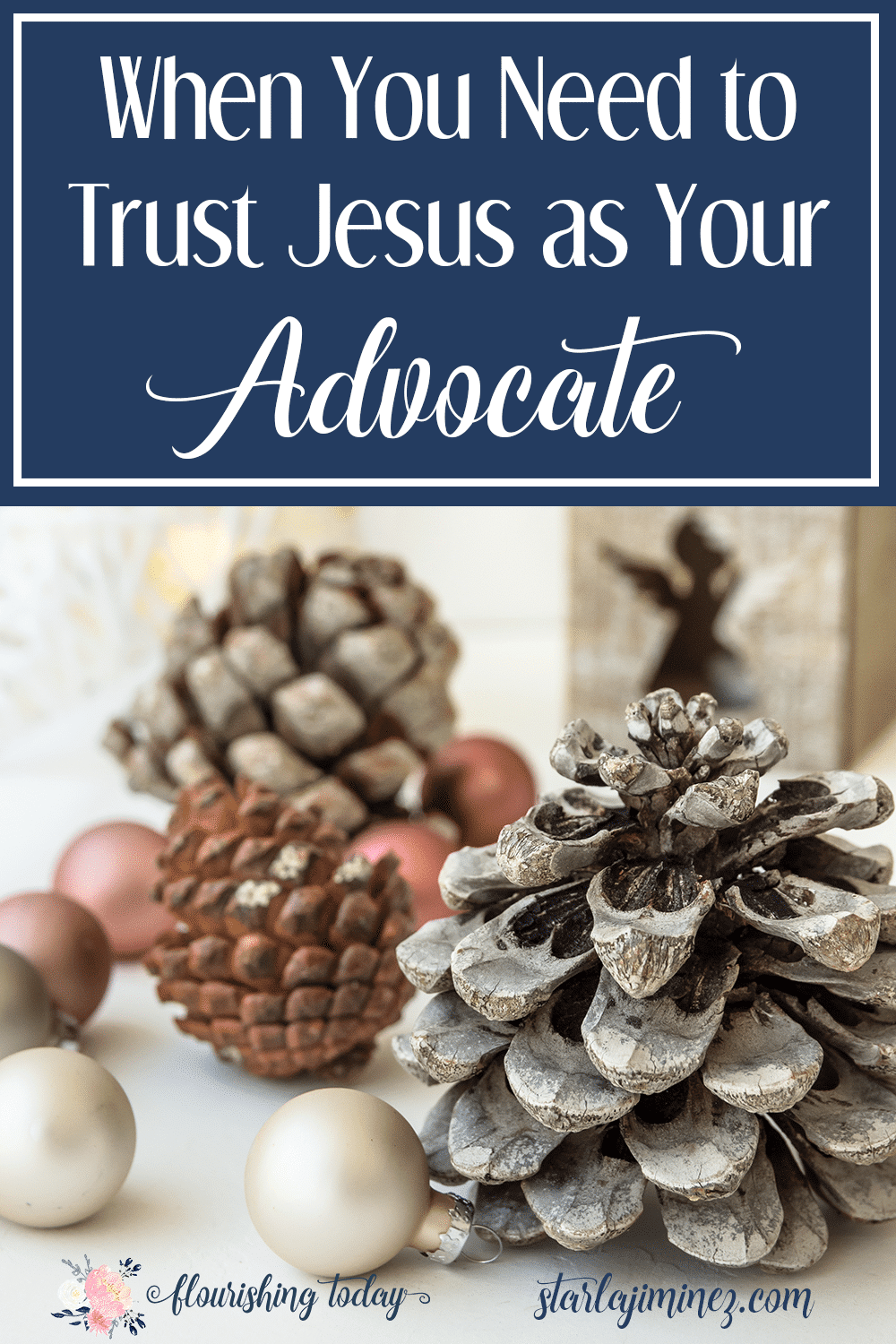Do you know Jesus as your Advocate? When life gets messy and you feel alone, He is there to work on your behalf. Join us as we study Jesus your Advocate.