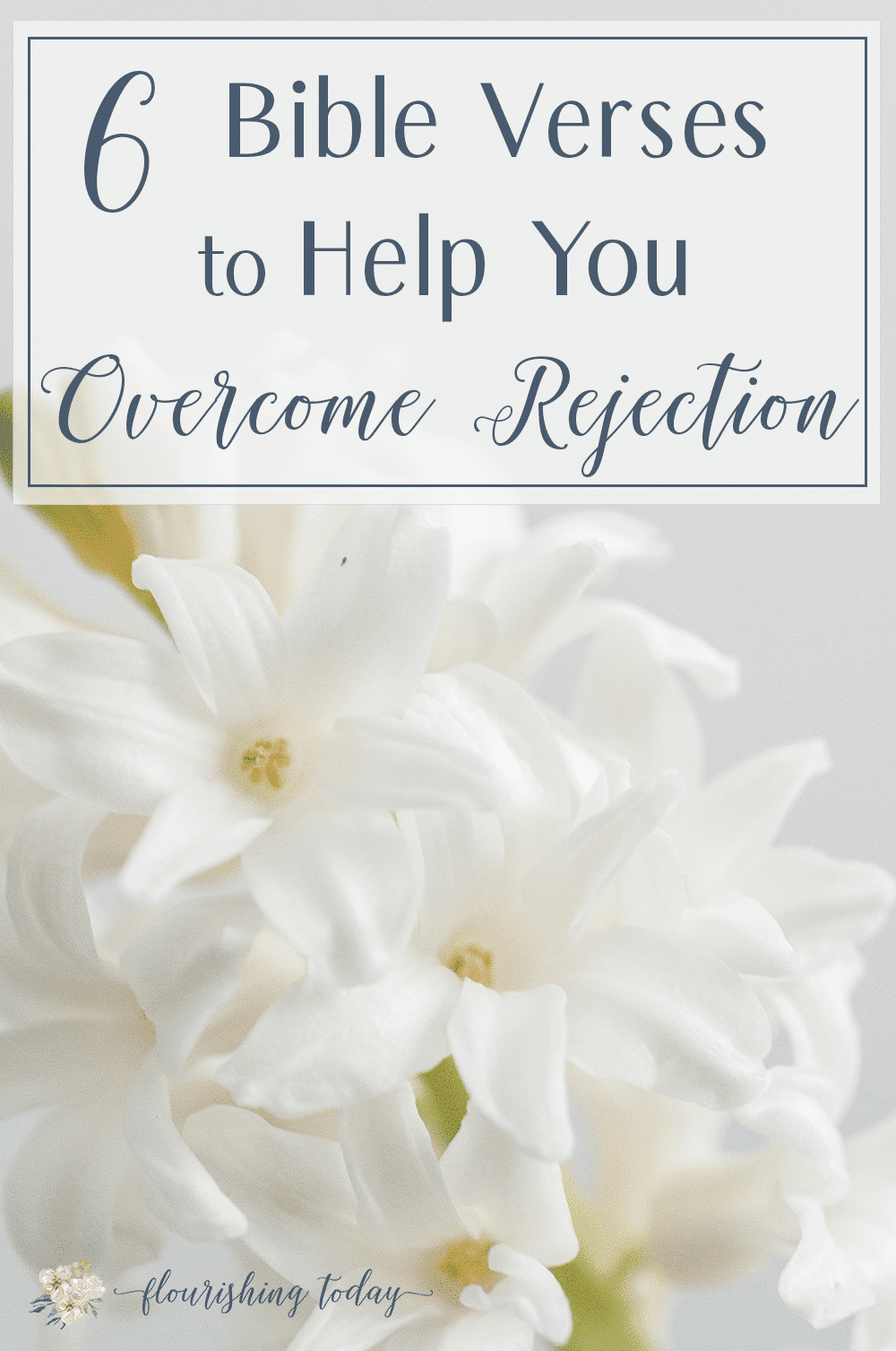 Are you struggling to overcome rejection in your life? Are past wounds keeping you from flourishing relationships? Here are 6 Bible verses and confession to help you overcome rejection in life. #bibleverses #scriptures #prayers #freeprintable