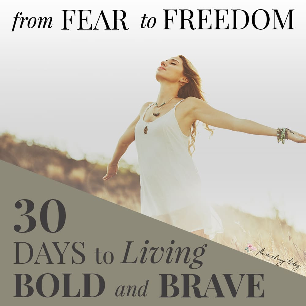 Are you ready to go from fear to freedom? Join us for a 30 day journey of learning to be bold and brave in the face of fear. You'll be equipped with biblical truths, testimonies of overcoming fear and scriptures to help you along the way. #nofear #fearless #scripture #overcomingfear