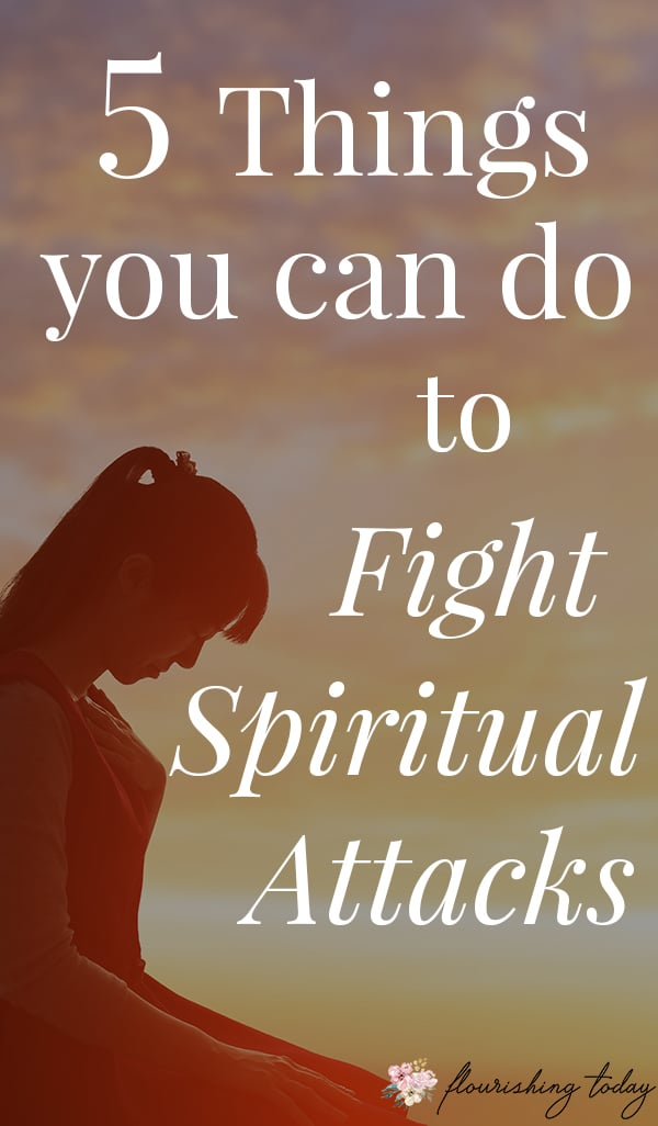 What do you do when you see signs of a spiritual attack? As Christians we've been giving everything we need in scripture to fight the enemy. Here are some bible verses and biblical truths to help you fight spiritual attacks. #spiritualattacks #bibleverses #spiritualgrowth