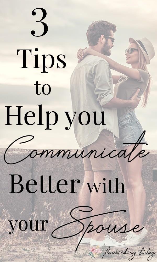 One of the biggest struggles in marriage is how to communicate better with your spouse. As one of our most important relationships God has given us, we want to steward it well. Here are a few practical tips on how to better communication with your husband. #marriage #communication #strongmarriage #godlymarriage