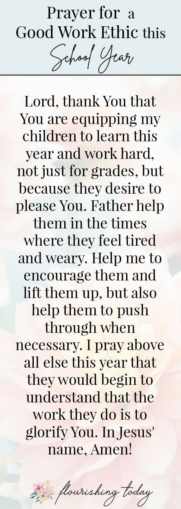 It's time for back to school and what better way to prepare than prayer for your kids? Here you'll find prayers for students, their teachers and for God's guidance for them. Don't forget to grab your free printable prayer bookmarks while you're there! #backtoschool #newschoolyear #school #prayers